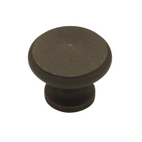 Liberty Hardware Modern Cable 1-3/16 Inch Diameter Distressed Oil Rubbed Bronze Cabinet Knob PN0397-OB-C