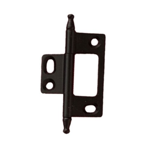 Hafele Elite Non-Mortised Butt Hinge 50X37mm - Black 351.95.380