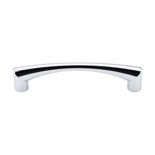 Top Knobs Nouveau III 5-1/16 Inch Center to Center Polished Chrome Cabinet Pull M1133