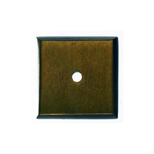 Top Knobs Aspen 1-1/4 Inch Diameter Light Bronze Back-plate M1451