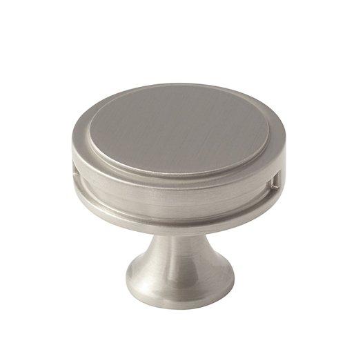 Amerock Oberon 1-3/8 Inch Diameter Satin Nickel Cabinet Knob BP36603G10