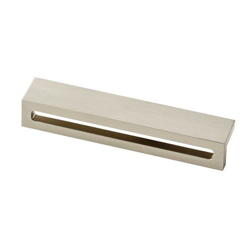 Liberty Hardware Urban Square 5-1/16 Inch Center to Center Satin Nickel Finger Pull P30952-SN-C