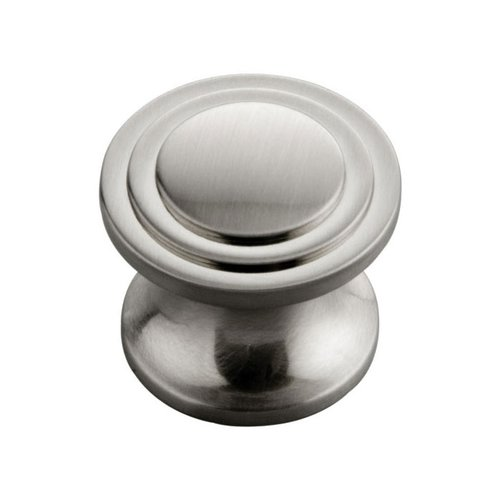 Hickory Hardware Deco 1-1/16 Inch Diameter Satin Nickel Cabinet Knob P3102-SN