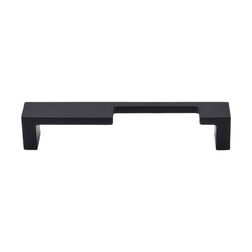 Top Knobs Sanctuary II 5 Inch Center to Center Flat Black Cabinet Pull TK259BLK