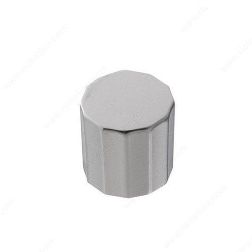 Richelieu Geometric 3/4 Inch Diameter Chrome Cabinet Knob 2171619140