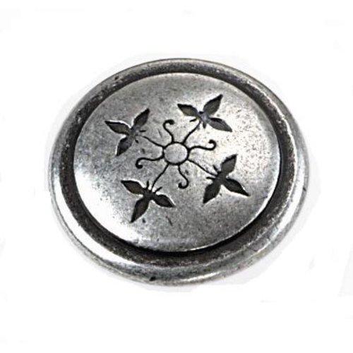 Laurey Hardware Cimarron 1-1/4 Inch Diameter Silverado Cabinet Knob 53060