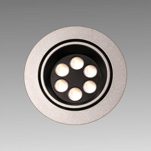 Big6/2-LED Stainless Swivel Spotlight - Warm White <small>(#BIG6/2/SS/WW)</small>