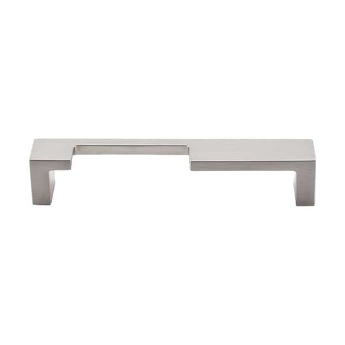 Top Knobs Sanctuary II 5 Inch Center to Center Brushed Satin Nickel Cabinet Pull TK256BSN