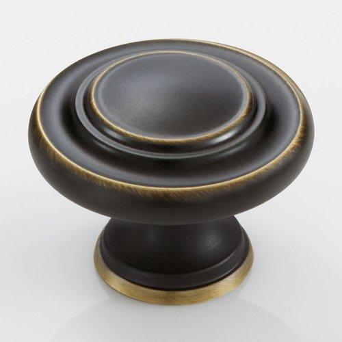 Amerock Inspirations 1-3/4 Inch Diameter Venetian Bronze Cabinet Knob BP15862VB