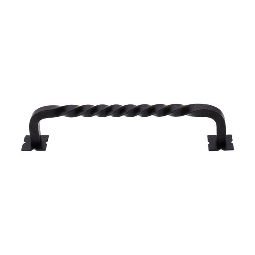 Normandy 6 Inch Center to Center Patina Black Cabinet Pull <small>(#M737)</small>