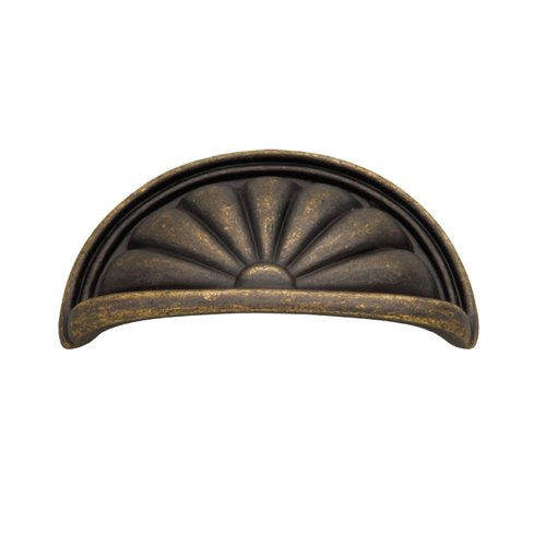 Hickory Hardware Newport 3 Inch Center to Center Windover Antique Cabinet Cup Pull P535-WOA