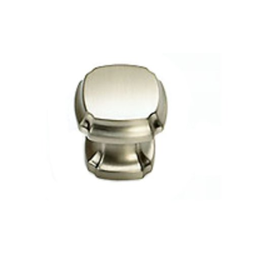 Schaub and Company Empire Designs 1-3/8 Inch Diameter Satin Nickel Cabinet Knob 882-15