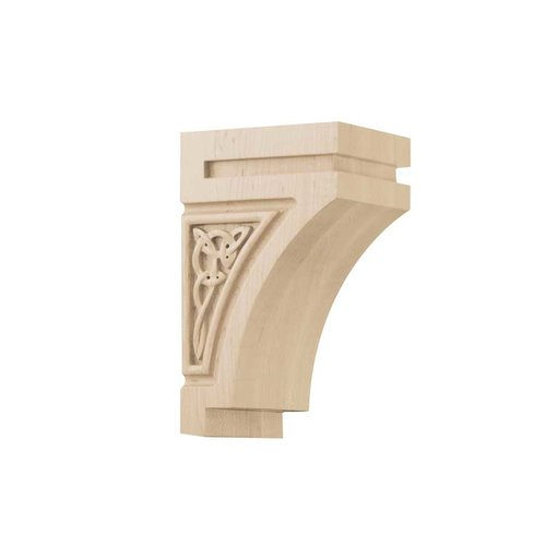Brown Wood Gaelic Small Corbel Unfinished Hard Maple 01600628HM1