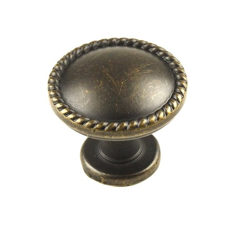 Century Hardware Hawthorne 1-1/4 Inch Diameter German Bronze Cabinet Knob 22326-GB