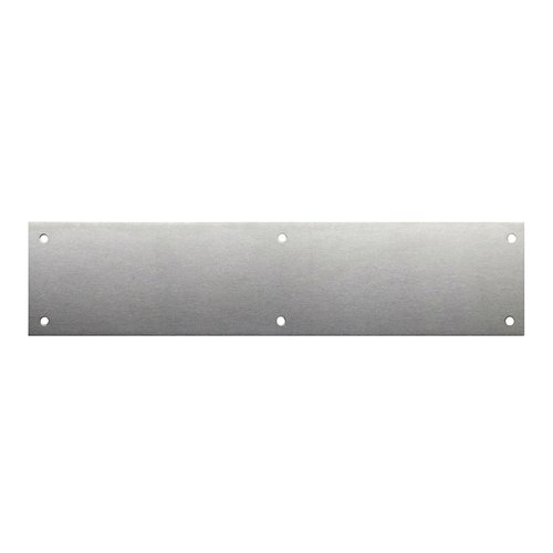 "Don-Jo 6"" X 16"" Door Push Plate Satin Nickel 72-619"