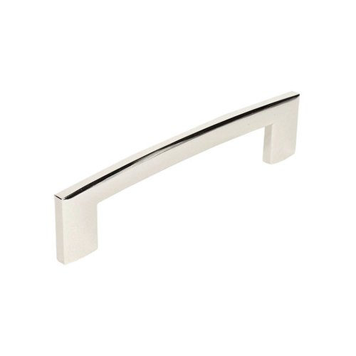 Century Hardware Villon 5-1/16 Inch Center to Center Polished Nickel Cabinet Pull 24468-14