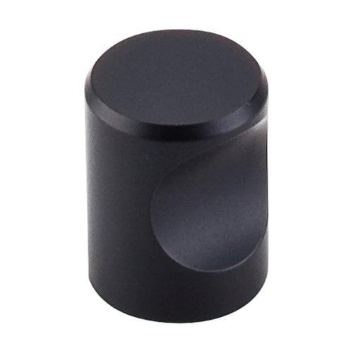 Top Knobs Nouveau II 3/4 Inch Diameter Flat Black Cabinet Knob M581