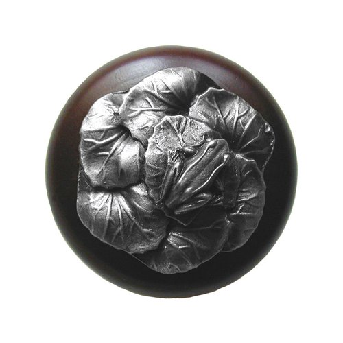 Notting Hill All Creatures 1-1/2 Inch Diameter Antique Pewter Cabinet Knob NHW-709W-AP