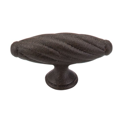 Top Knobs Britannia 3-1/8 Inch Length Rust Cabinet Knob M53