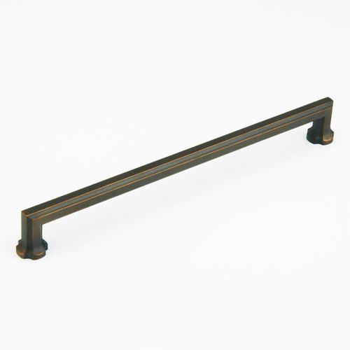 Schaub and Company Empire Designs 15 Inch Center to Center Ancient Bronze Cabinet Pull 881-ABZ