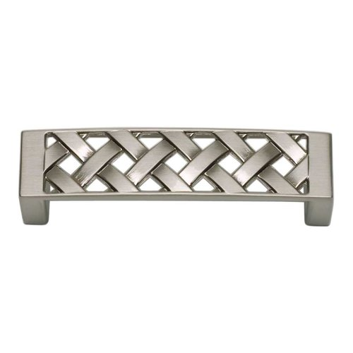 Atlas Homewares Lattice 3 Inch Center to Center Brushed Nickel Cabinet Pull 310-BRN