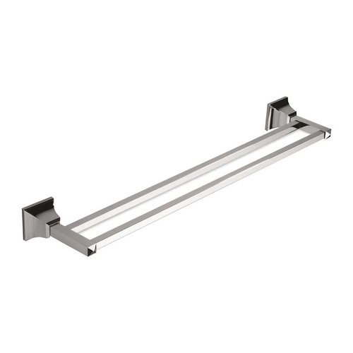 "Atlas Homewares Gratitude Double Towel Bar 24"" Polished Chrome GRADTB600-CH"