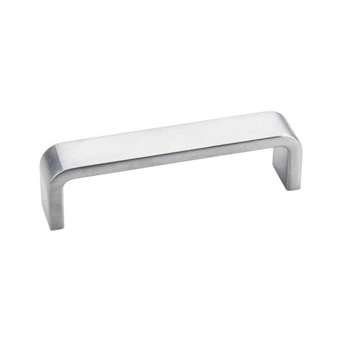 Elements by Hardware Resources Asher 3-3/4 Inch Center to Center Brushed Chrome Cabinet Pull 193-96BC