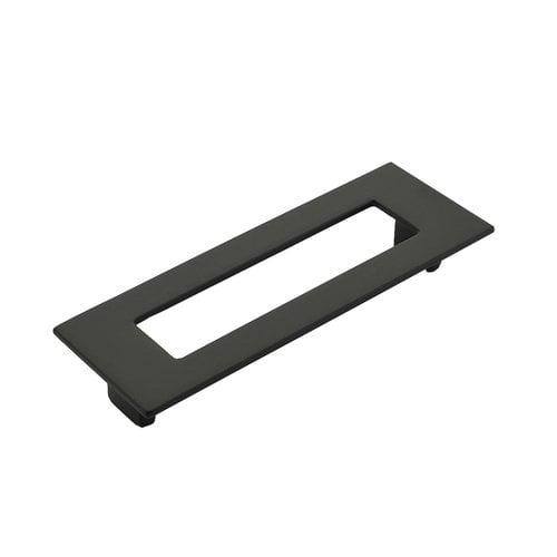 Schaub and Company Finestrino 5-1/16 Inch Center to Center Matte Black Cabinet Pull 445-MB