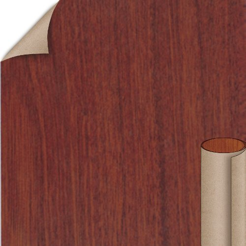 Nevamar Regency Mahogany Velvet Finish 4 ft. x 8 ft. Vertical Grade Laminate Sheet W8352V-V-V3-48X096