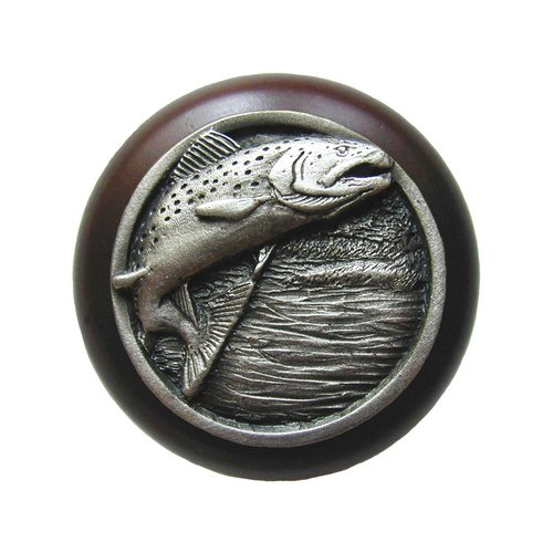 Notting Hill Great Outdoors 1-1/2 Inch Diameter Antique Pewter Cabinet Knob NHW-708W-AP