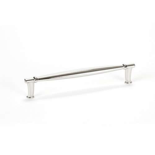 Dierdra 6-5/16 Inch Center to Center Polished Nickel Cabinet Pull <small>(#9567-1014-P)</small>