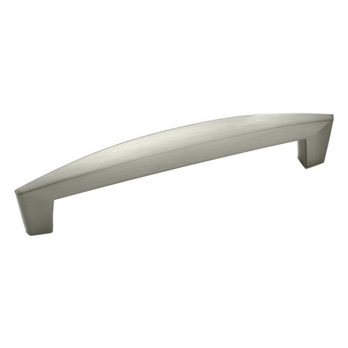 Amerock Creased Bow 5-1/16 Inch Center to Center Satin Nickel Cabinet Pull BP27017G10