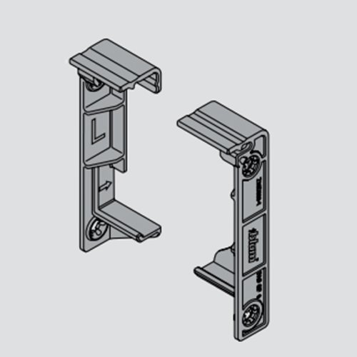 Blum Servo-Drive Adapter Set-Horizontal Mount-Panel Z10D5210.US