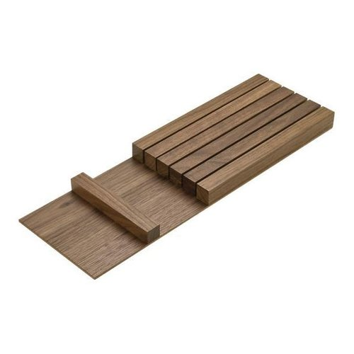 Hafele Knife Holder Walnut Finish 556.91.640