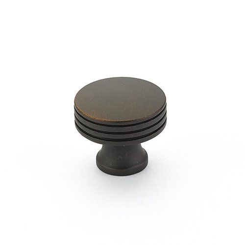 Schaub and Company Menlo Park 1-1/4 Inch Diameter Ancient Bronze Cabinet Knob 532-ABZ