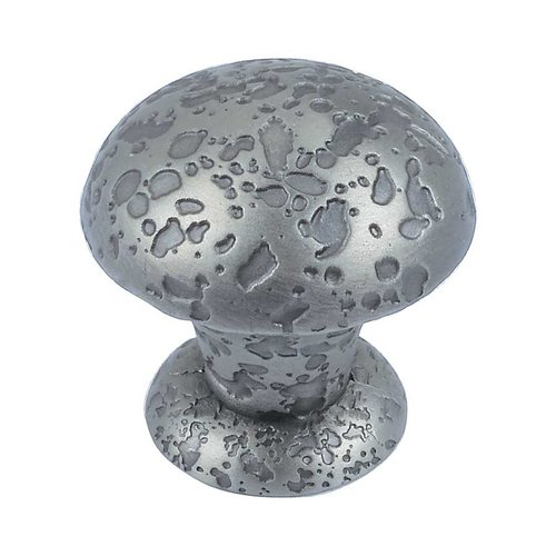 Olde World 1 Inch Diameter Pewter Cabinet Knob <small>(#286-P)</small>