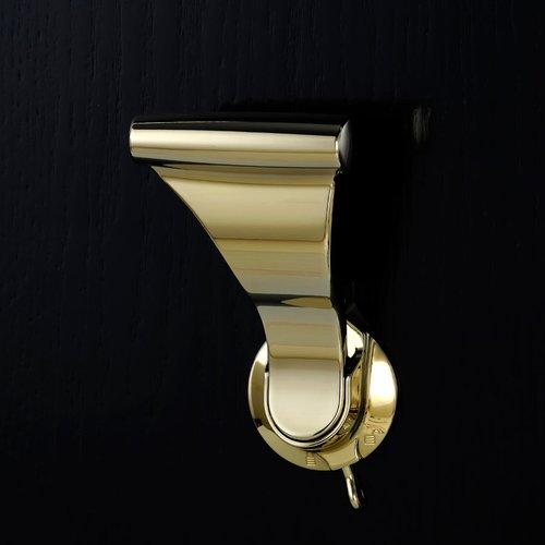 "Soss UltraLatch for 1-3/4"" Door W/ Privacy Latch Bright Brass L28P-3"