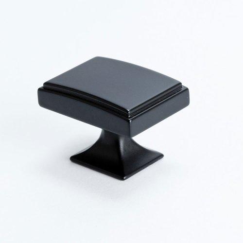 Berenson Hearthstone 1-9/16 Inch Diameter Matte Black Cabinet Knob 4086-1055-P