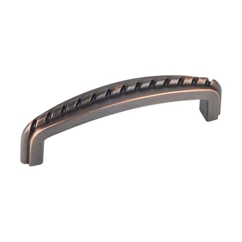 Elements by Hardware Resources Cypress 3 Inch Center to Center Dark Brushed Antique Copper Cabinet Pull Z118-3DBAC