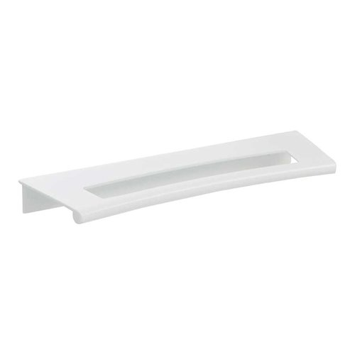 MidCentury 5-1/16 Inch Center to Center White Gloss Cabinet Pull <small>(#363-WG)</small>