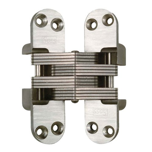 Soss #416 Fire Rated Invisible Hinge Satin Stainless Steel 416SSUS32D
