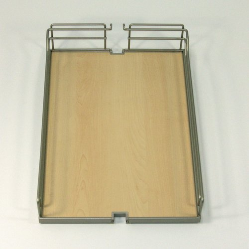 Kessebohmer Arena Plus Tray Set (2) 19 inch Wide Champagne/Maple 546.63.835