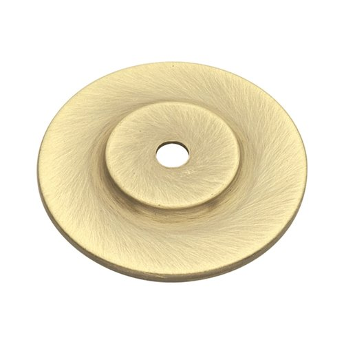 Hickory Hardware Cavalier 1-1/2 Inch Diameter Antique Brass Back-plate P274-AB