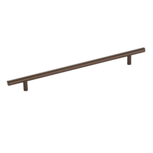 Amerock Bar Pulls 10-1/16 Inch Center to Center Caramel Bronze Cabinet Pull BP40519CBZ