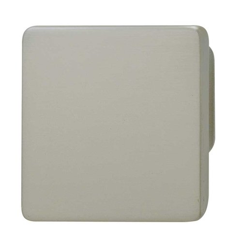 Hafele Bella Italiana 1-1/4 Inch Diameter Satin Nickel Cabinet Knob 132.72.600