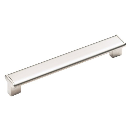 Schaub and Company Italian Designs Tenor 11-5/16 Inch Center to Center Satin Nickel Cabinet Pull 245-288-15