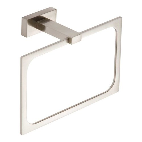 Atlas Homewares Axel Towel Ring 8 inch Brushed Nickel AXTR-BRN