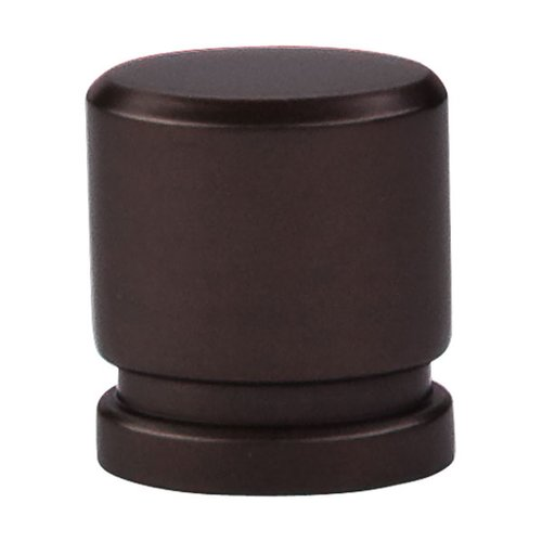 Top Knobs Sanctuary 1 Inch Length Oil Rubbed Bronze Cabinet Knob TK57ORB