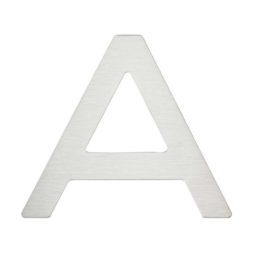 "Atlas Homewares Paragon House Letter ""A inch Stainless Steel PGNA-SS"