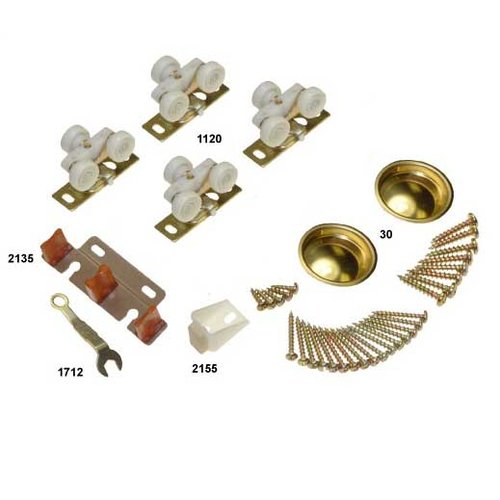 Johnson Hardware 138F Series Hardware Set-125lbs 13313802
